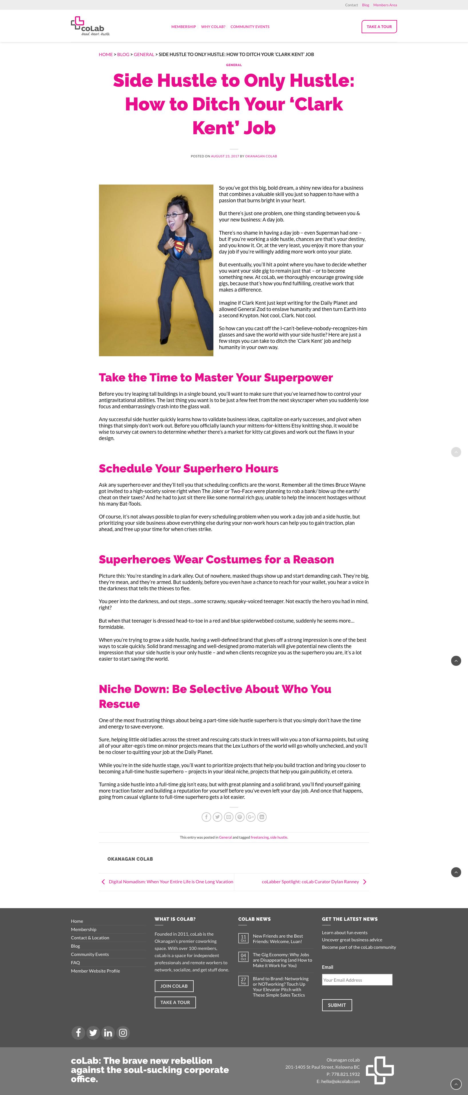 web article